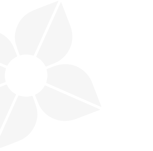 gray flower pattern from Malala Fund